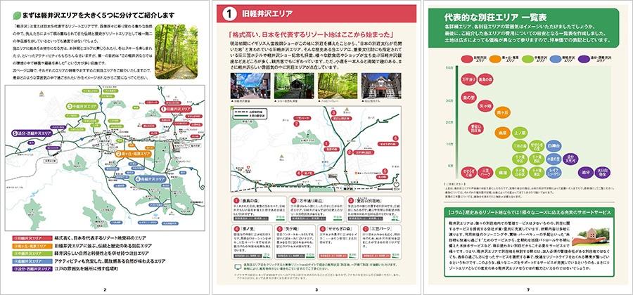 5エリアから探す軽井沢のおすすめ別荘エリア